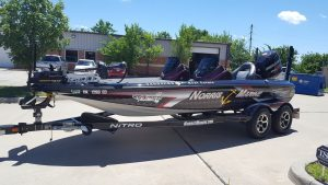 Custom Boat Wrap by Fairchild Signs Oklahoma City Sign Company